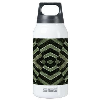 Geometric Grunge Background Thermos Bottle