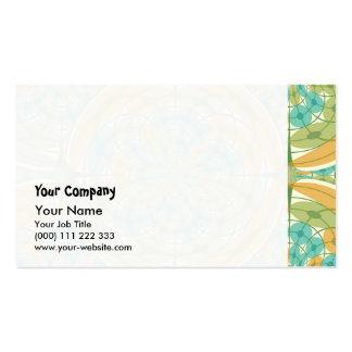 Geometric harmony business card