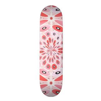Geometric harmony skateboard deck