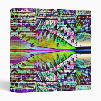 Geometric Illusion Binder