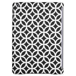 Geometric iPad Air Case in Black and White