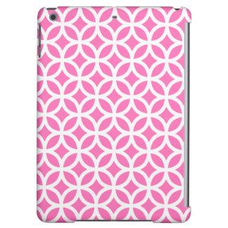 Geometric iPad Air Case in Hot Pink