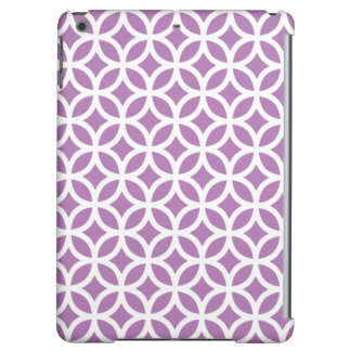 Geometric iPad Air Case in Radiant Orchid