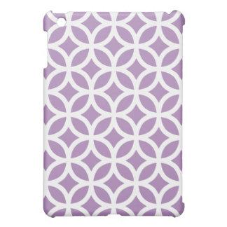 Geometric Ipad Mini Case - African Violet Purple