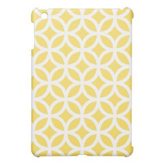 Geometric Ipad Mini Case - Lemon Zest Yellow