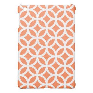 Geometric Ipad Mini Case - Nectarine Orange