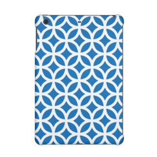 Geometric iPad Retina Case in Dazzling Blue iPad Mini Retina Cases