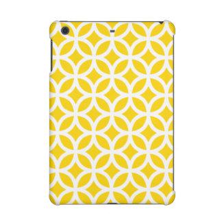 Geometric iPad Retina Case in Freesia Yellow iPad Mini Cases