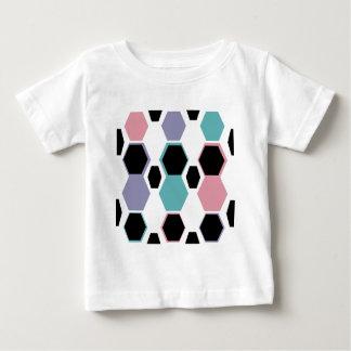 Geometric Jewel Tones Pattern Baby T-Shirt