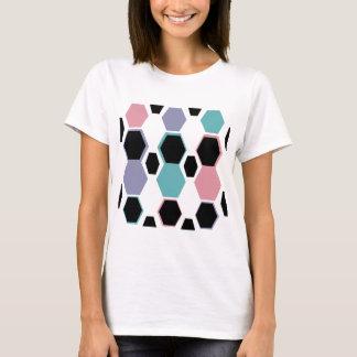 Geometric Jewel Tones Pattern T-Shirt