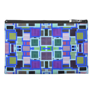 Geometric Jumble Travel Accessories Bags