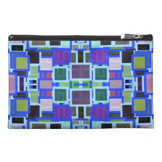 Geometric Jumble Travel Accessory Bag