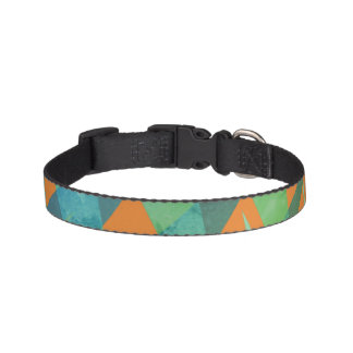 Geometric Jungle Dog Collar