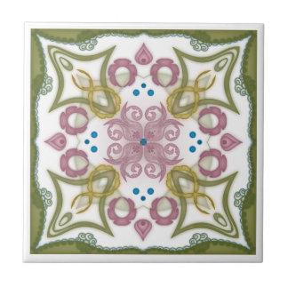 Geometric Kaleidoscope Mirror Design - Trivet 5