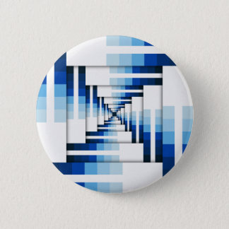 Geometric Layers of Blue Button