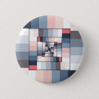 Geometric Layers of Color Button