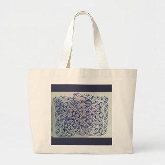 Geometric Life Large Tote Bag