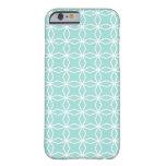 Geometric Light Aqua iPhone 6 case