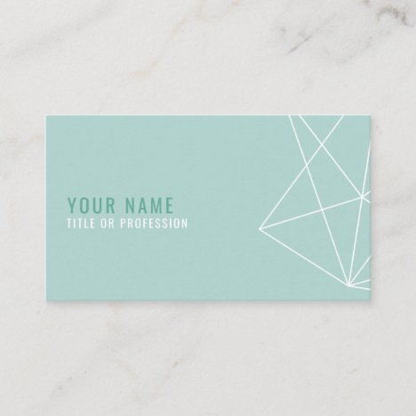 Geometric Lineart Business Card