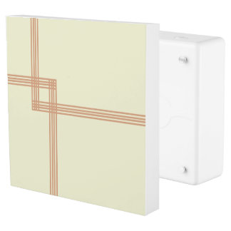 Geometric Lines Outlet Cover