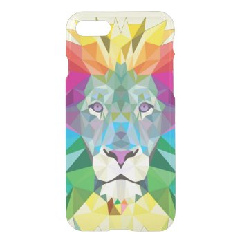 Geometric Lion Head iPhone 7 Case