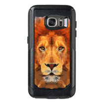 Geometric Lion OtterBox Samsung Galaxy S7 Case