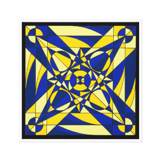 Geometric Mandala Canvas Print