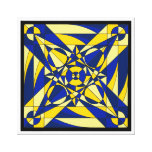 Geometric Mandala Canvas Prints
