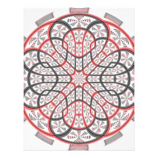 Geometric mandala flyer