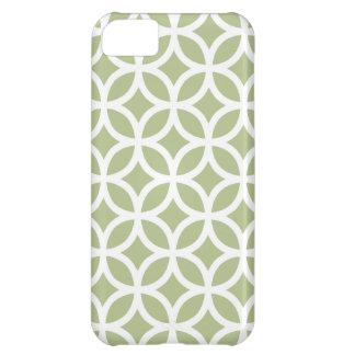 Geometric Margarita Green iPhone 5 Case