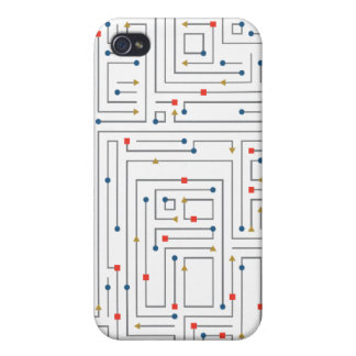 Geometric Maze Covers For iPhone 4