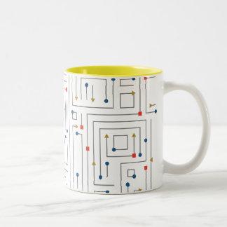 Geometric Maze Mugs