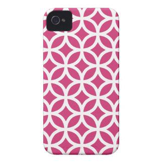 Geometric Medium Red Iphone 4/4S Case