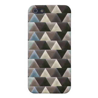 Geometric Men's Retro Triangle Pattern Case For iPhone SE/5/5s
