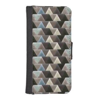 Geometric Men's Retro Triangle Pattern iPhone SE/5/5s Wallet