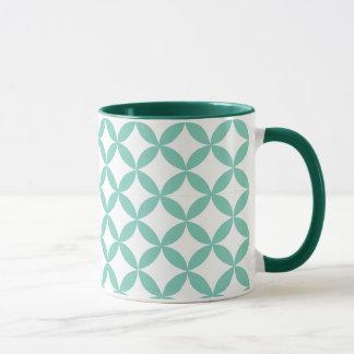 Geometric Mint Green Mug