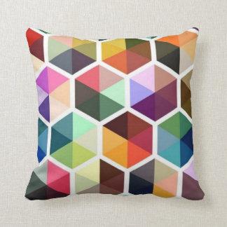 Geometric Modern Colorful Pillow