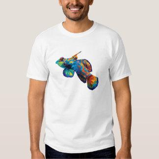 Geometric Mosaic Mandarin Dragonett Goby T-Shirt