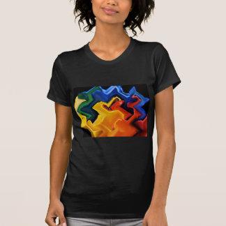 Geometric Multi Colors Tees