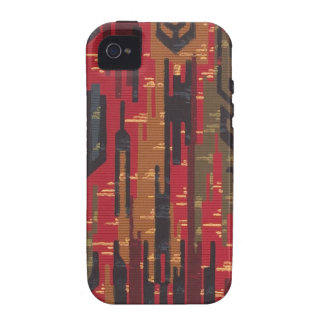 "Geometric ""Navaho rug"" wallpaper, 1910 Case-Mate iPhone 4 Covers"
