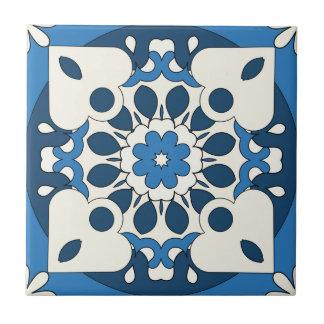 Geometric Navy Blue Mediterranean Tile