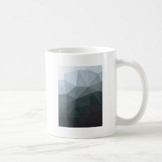 Geometric Ombre Gray Colorblock Coffee Mug