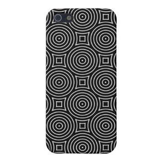 Geometric Optical iPhone 5 Case in Black and White