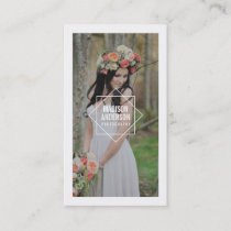 Geometric Overlay | Photography Business Cards