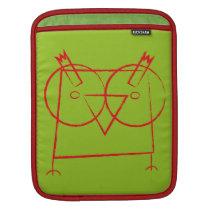 Geometric Owl iPad Sleeve