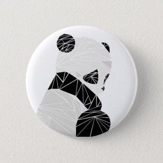 Geometric panda button