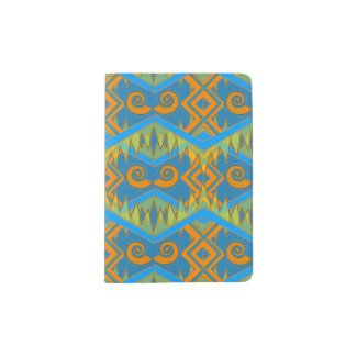 Geometric Passport Holder