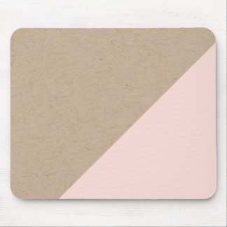 Geometric pastel dipped mouspad mouse pad