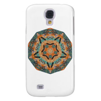 Geometric Pattern 05 - Add your own text Samsung Galaxy S4 Case