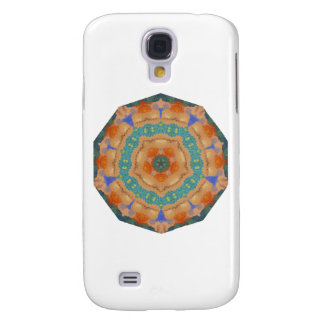Geometric Pattern 06 - Add your own text Galaxy S4 Case
